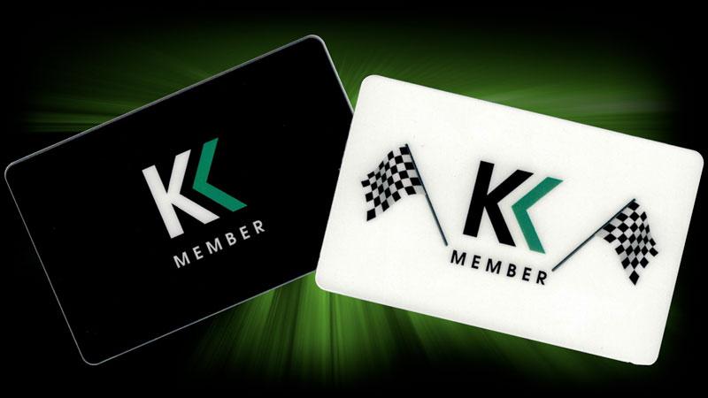 Karting Madness Member Card