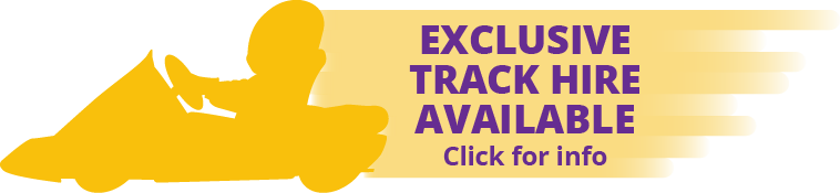 exclusive track hire available
