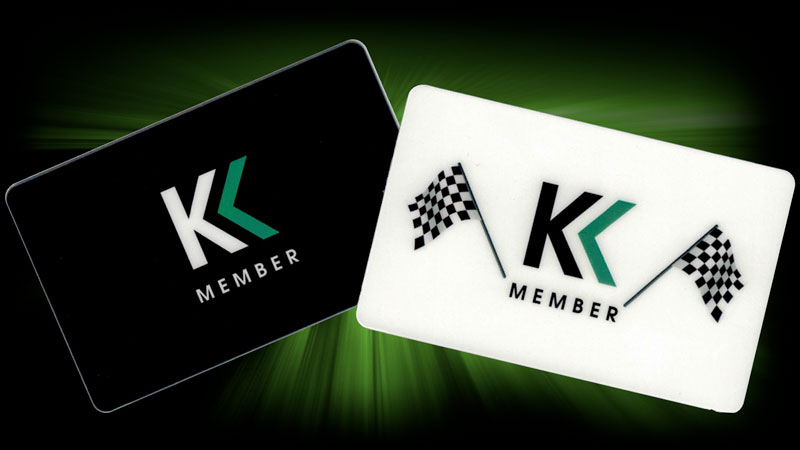 Karting Madness Member Card