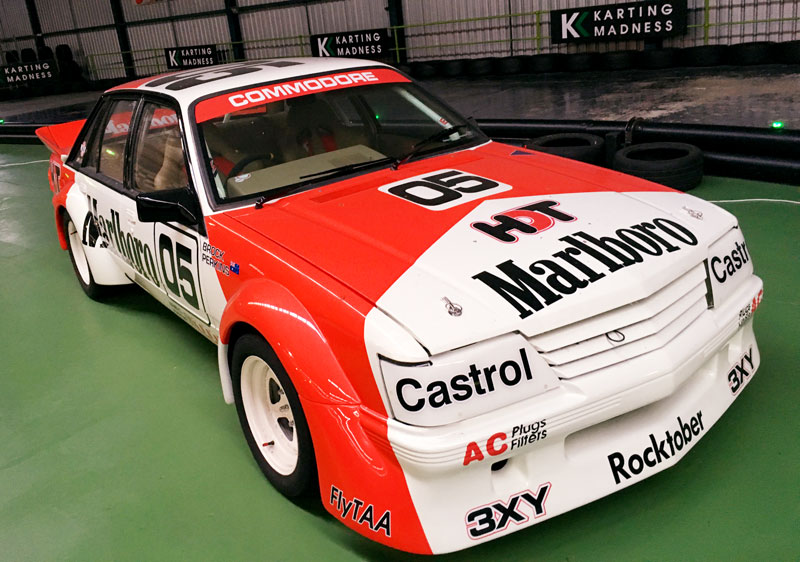 Cars on display : Peter Brock Marlboro Replica
