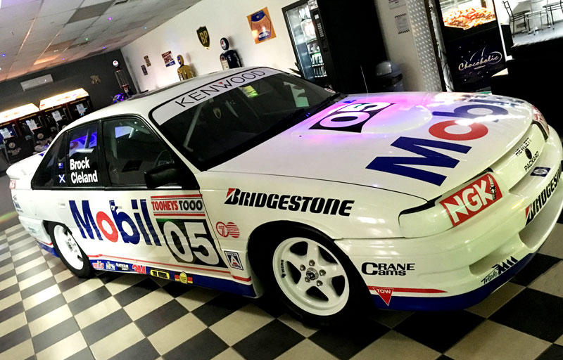 Cars on display : Peter Brock Mobil 05 Replica