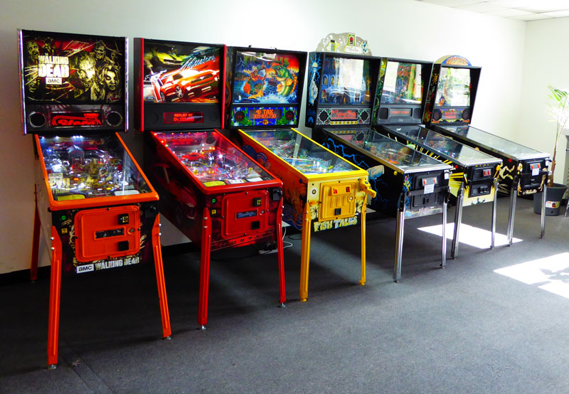 pin ball machines